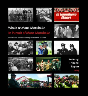 Maori Council Front Cover
